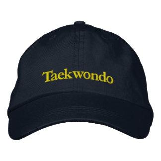 Casquette de baseball de marine du Taekwondo