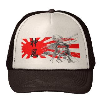 Casquette de baseball divin de vent de kanji de