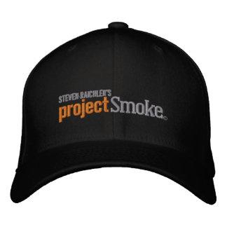 Casquette de baseball officiel de fumée de projet