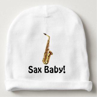 Casquette de bébé de saxo ! bonnet de bébé