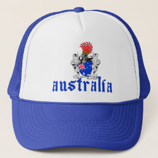 Casquette de bouclier de l'Australie
