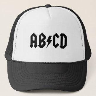 Casquette de camionneur d'ABCD