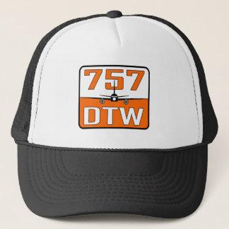 Casquette de camionneur de 757 DTW