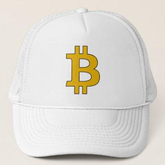 Casquette de camionneur de Bitcoin - alerte de