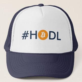 Casquette de camionneur de Bitcoin de #HODL