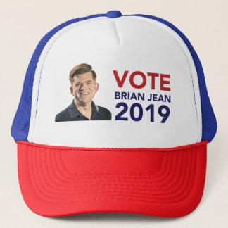 Casquette de camionneur de Brian Jean de vote