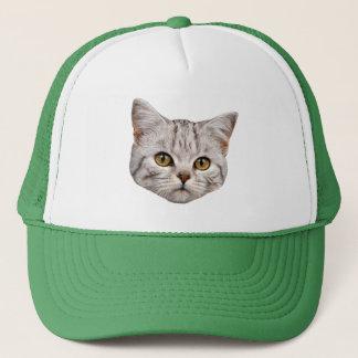 Casquette de camionneur de chat