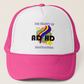 Casquette de camionneur de distraction de TDAH