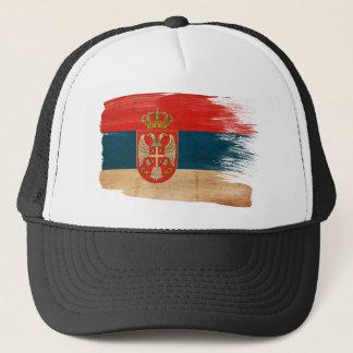 Casquette de camionneur de drapeau de la Serbie