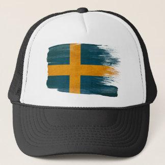 Casquette de camionneur de drapeau de la Suède