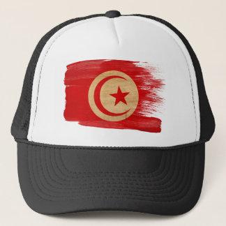 Casquette de camionneur de drapeau de la Tunisie
