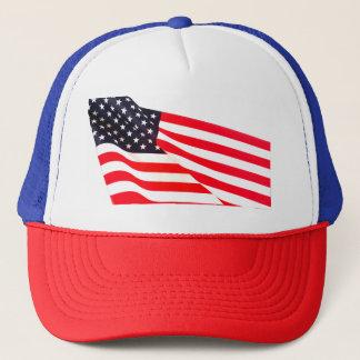 Casquette de camionneur de drapeau des Etats-Unis