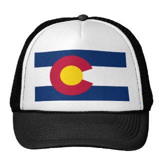 Casquette de camionneur de drapeau du Colorado
