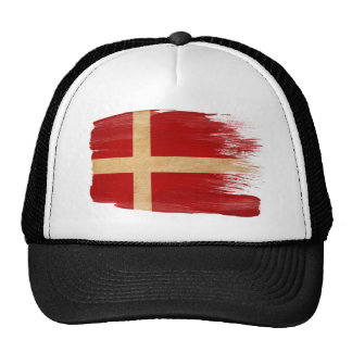 Casquette de camionneur de drapeau du Danemark