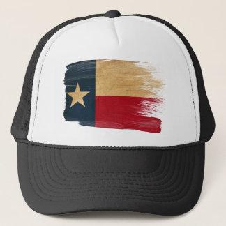 Casquette de camionneur de drapeau du Texas