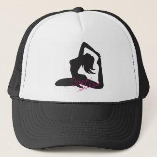 Casquette de camionneur de fille de yoga