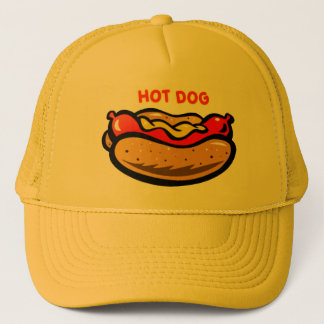 Casquette de camionneur de hot-dog par de mini