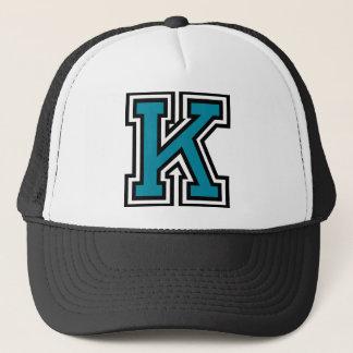 """Casquette de camionneur de la lettre """"K"""""""
