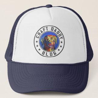 Casquette de camionneur de logo de blog de papa de