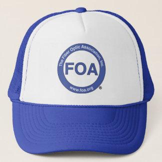 Casquette de camionneur de logo de la FOA