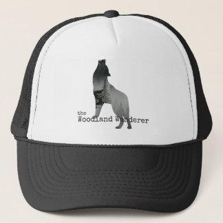 Casquette de camionneur de loup