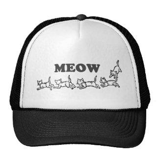 Casquette de camionneur de Meow