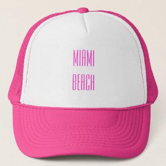 Casquette de camionneur de Miami Beach
