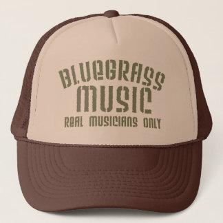 Casquette de camionneur de musique de Bluegrass