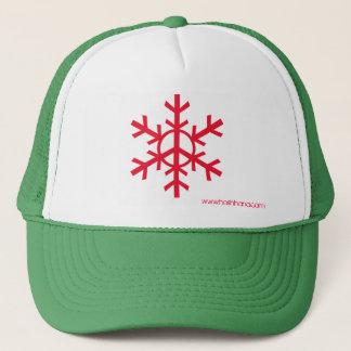 Casquette de camionneur de paix de neige - logo