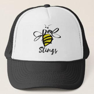 Casquette de camionneur de piqûres d'abeilles