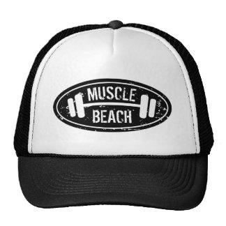 Casquette de camionneur de plage de muscle avec le