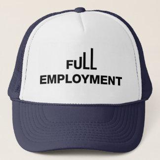 Casquette de camionneur de plein emploi