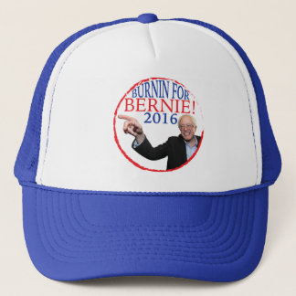 Casquette de camionneur de ponceuses de Bernie