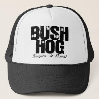Casquette de camionneur de porc de Bush