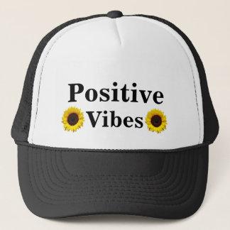 Casquette de camionneur de positivité