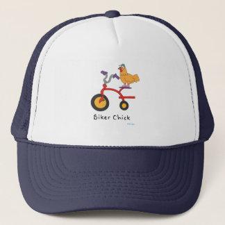 Casquette de camionneur de poussin de cycliste