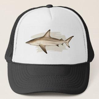 Casquette de camionneur de requin de Blacktip