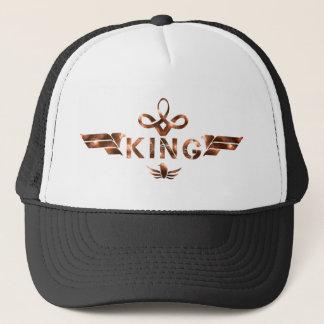 casquette de camionneur de roi