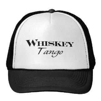 Casquette de camionneur de tango de whiskey