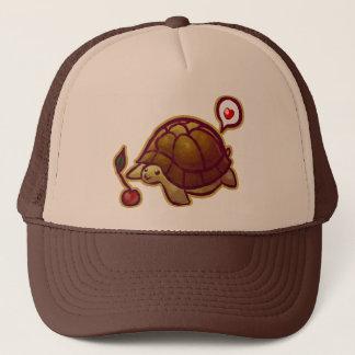 Casquette de camionneur de tortue de cerise