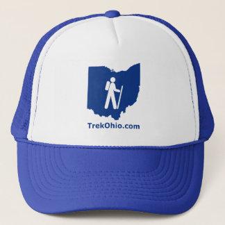 Casquette de camionneur de TrekOhio, bleu royal
