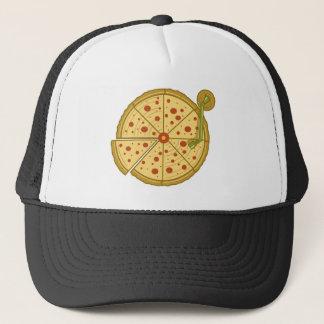 Casquette de camionneur de vinyle de pizza