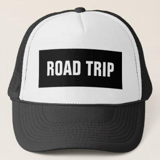 Casquette de camionneur de voyage par la route