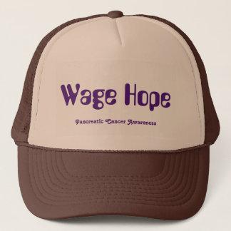 Casquette de camionneur d'espoir de salaire