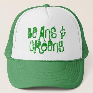 Casquette de camionneur d'haricots et de verts