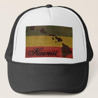 Casquette de camionneur d'Hawaï Rasta