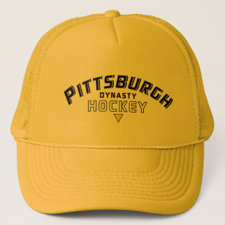 Casquette de camionneur d'or d'hockey de dynastie