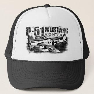 Casquette de camionneur du mustang P-51
