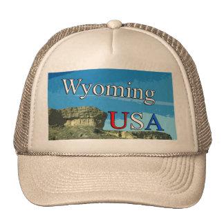 Casquette de camionneur du Wyoming Etats-Unis