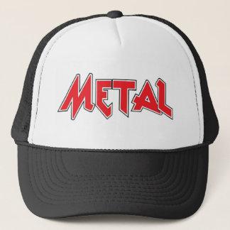Casquette de camionneur en métal